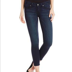 Paige Vertugo Ankle dark blue jeans